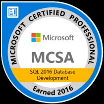 mcsa-sql-2016-database-development